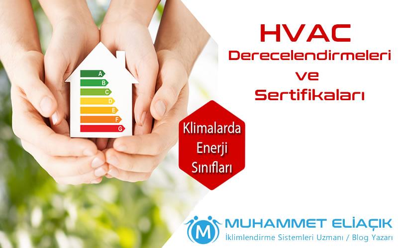 HVAC Derecelendirmeleri ve Sertifikaları
